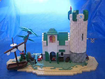 LEGO Pirate MOC Forgotten Outpost by Trevor Van Aalst