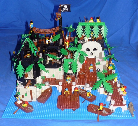Captain Ultimo's Refuge - a Pirate LEGO MOC by Pavel