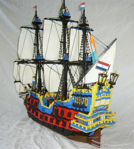 Prinses Nikki, a Pirate LEGO creation by De Sandman