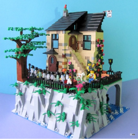 House of Pirates, a LEGO MOC by Elena