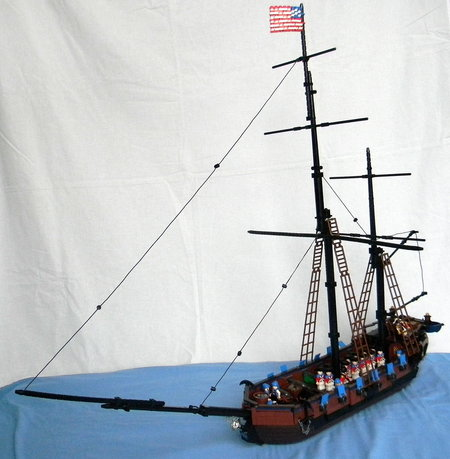 LEGO Pirate Ketch North Carolina MOC Corioso