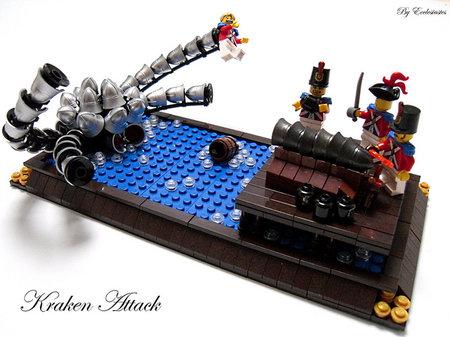 LEGO Pirate Kraken Attack MOC Ecclesiastes