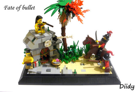 LEGO Pirate Fate of Bullet MOC Diidy