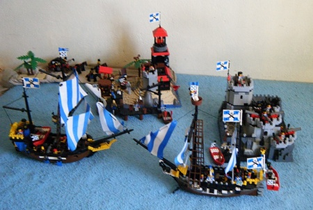Bluecoat stronghold, a Pirate LEGO MOC by Brig. Brick