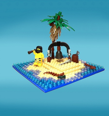 Bellringer's Isle - a Pirate LEGO MOC by /TheBricks\