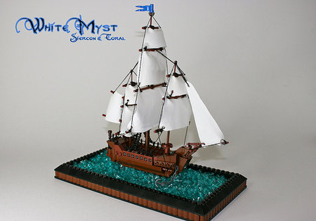 LEGO Pirate White Myst MOC Siercon and Coral