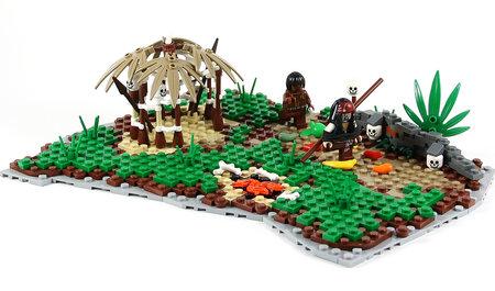 LEGO Pirate Run Jack Run MOC TheBrickAvenger