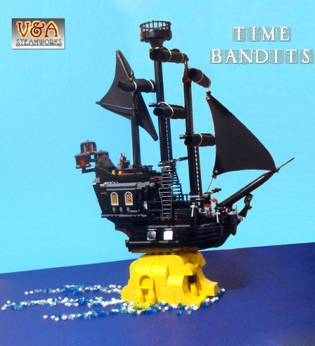 Time Bandits - a LEGO creation by V&A Steamworks
