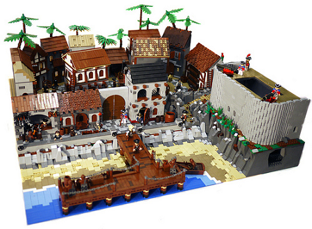 Pirate Town by brickcitydepot