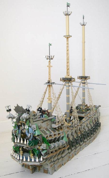 LEGO Pirate Flying Dutchman MOC Sebeus Iniwum