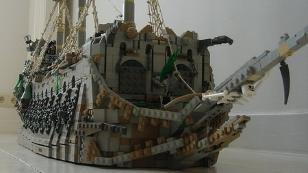 LEGO Pirate CUUSOO Flying Dutchman Sebeus Iniwum
