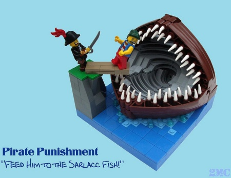 Feed Him to the Sarlacc Fish!, a Pirate LEGO MOC by 2 Much Caffeine