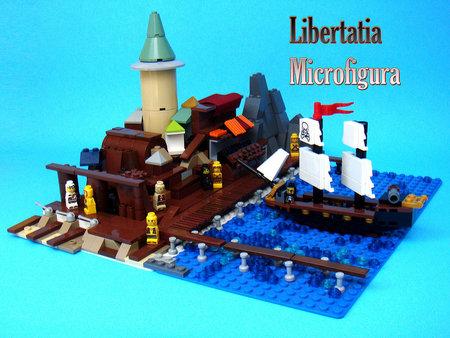 Libertatia Microfigura by V&A Steamworks
