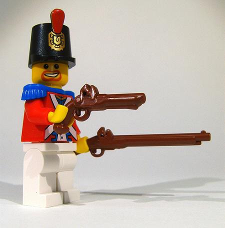 BrickArms Musket and Flintlock Pistol