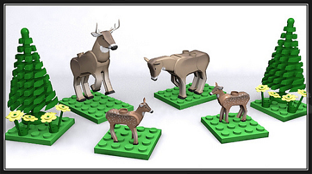 LEGO and Animals