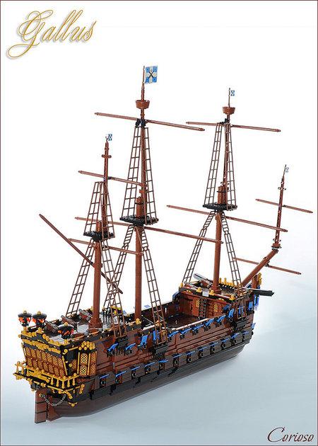 LEGO Pirate Gallus MOC Corioso