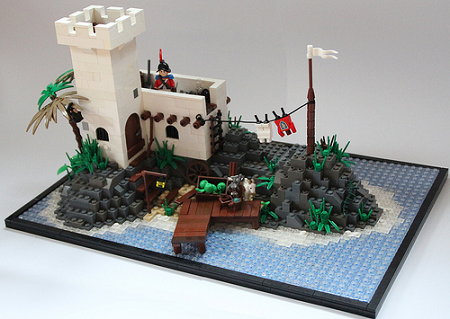 Soldiers Outpost by Brick Vader