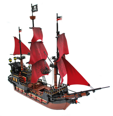 Franko's pirate ship
