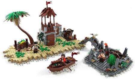 LEGO Pirate Lagoon MOC TheBrickAvenger