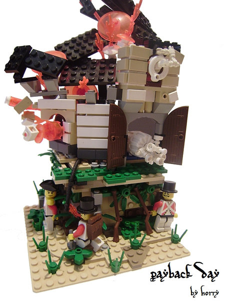 LEGO Pirate Payback Day MOC Horry