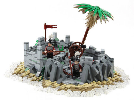LEGO Pirate Spanish Fort MOC TheBrickAvenger