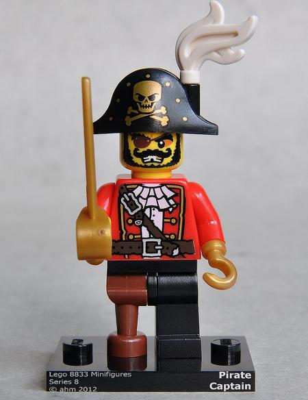 LEGO Pirate Captain