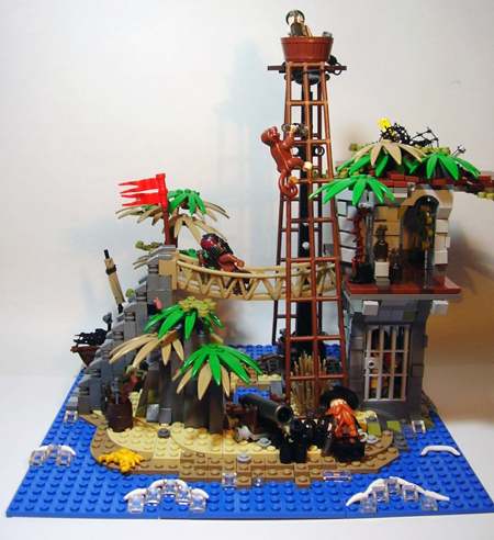 Classic set 6270 - Forbidden Island revisited