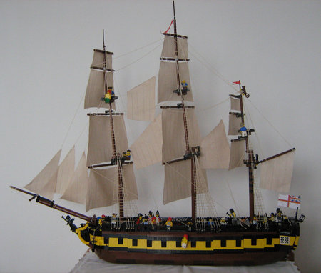 HMS Surprise - 24 gun frigate
