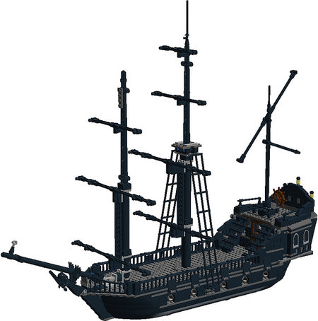 Discuss LDD MOC: Black Pearl in the forum!