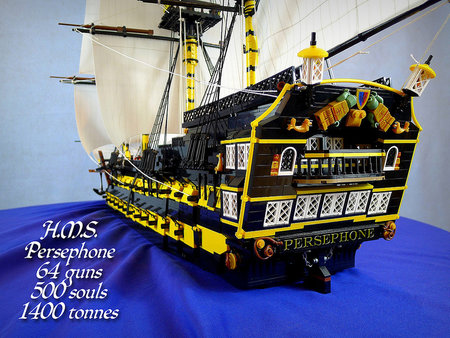 Check out Ship of the Line Persephone in the forum!