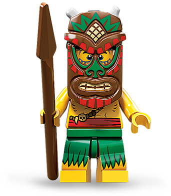 Discuss LEGO Minifigure Series 11 - Island Warrior in the forum