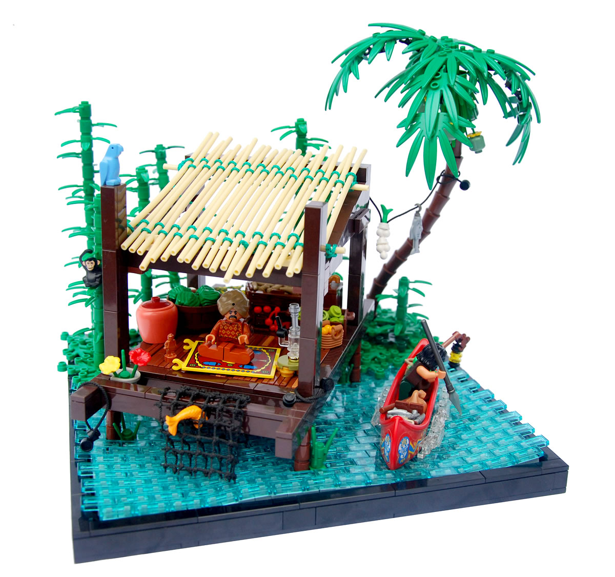 """Photo of """"Bamboo Hut"""" by Legopard"""