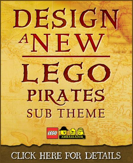 Design NEW LEGO Pirates Sub-Theme