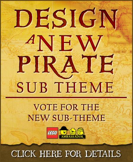 Design NEW LEGO Pirates Sub-theme - Vote for the Sub-Theme