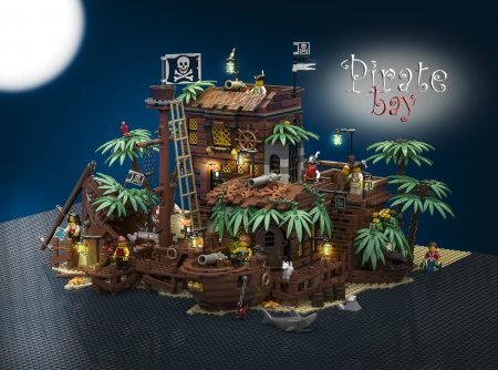 Thumbnail Image of LEGO Ideas: The Pirate Bay!!