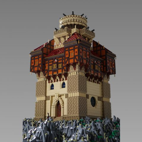 "Thumbnail Image of ""The LEGO Castle of Captain Sabertooth"" by DK_Titan"