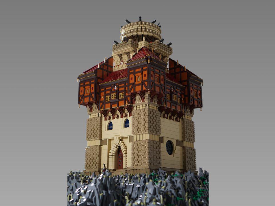 MOC: The LEGO Castle of Captain Sabertooth