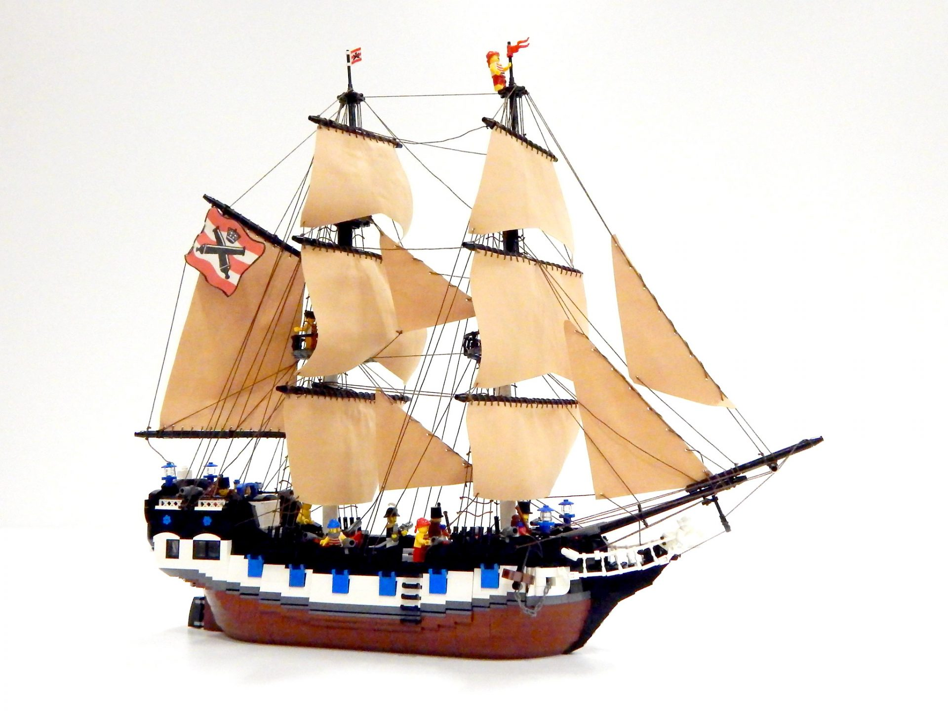 """Photo 1 of """"HMS White Card"""" by Elephant-Knight"""