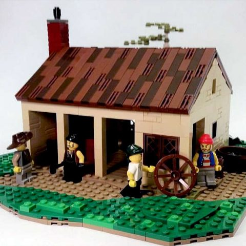 "Thumbnail Image of ""Blacksmith Shop"" by Capt Wolf"