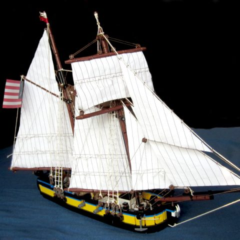 "Thumbnail Image of ""Sjælland a Topsail Schooner"" by Wellesley"