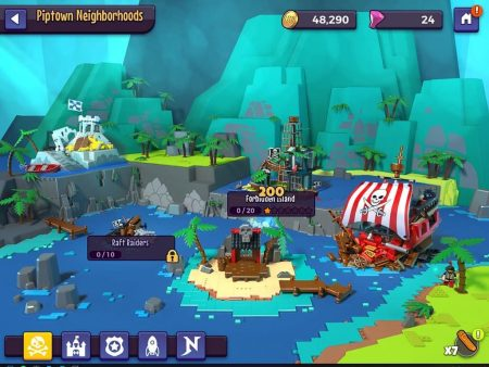 Thumbnail Image of Pirates in LEGO® Legacy: Heroes Unboxed – New Mobile Game