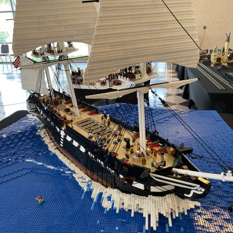 """Thumbnail Image of """"USS Constitution"""" by JimBeute"""