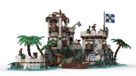 """Thumbnail Image of """"Imperial Island Fort"""" by BrickHammer"""
