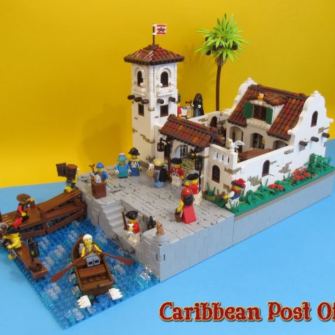"Thumbnail Image of ""Caribbean Post Office"" by Ciamosław Ciamek (@Piglet)"