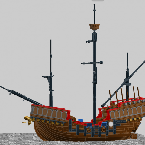 "Thumbnail Image of ""Late Renaissance Carrack"" by SteamSewnEmpire"