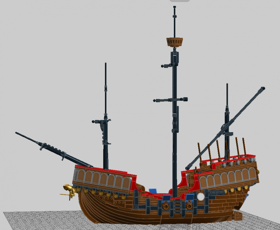 """Photo of """"Late Renaissance Carrack"""" by SteamSewnEmpire"""