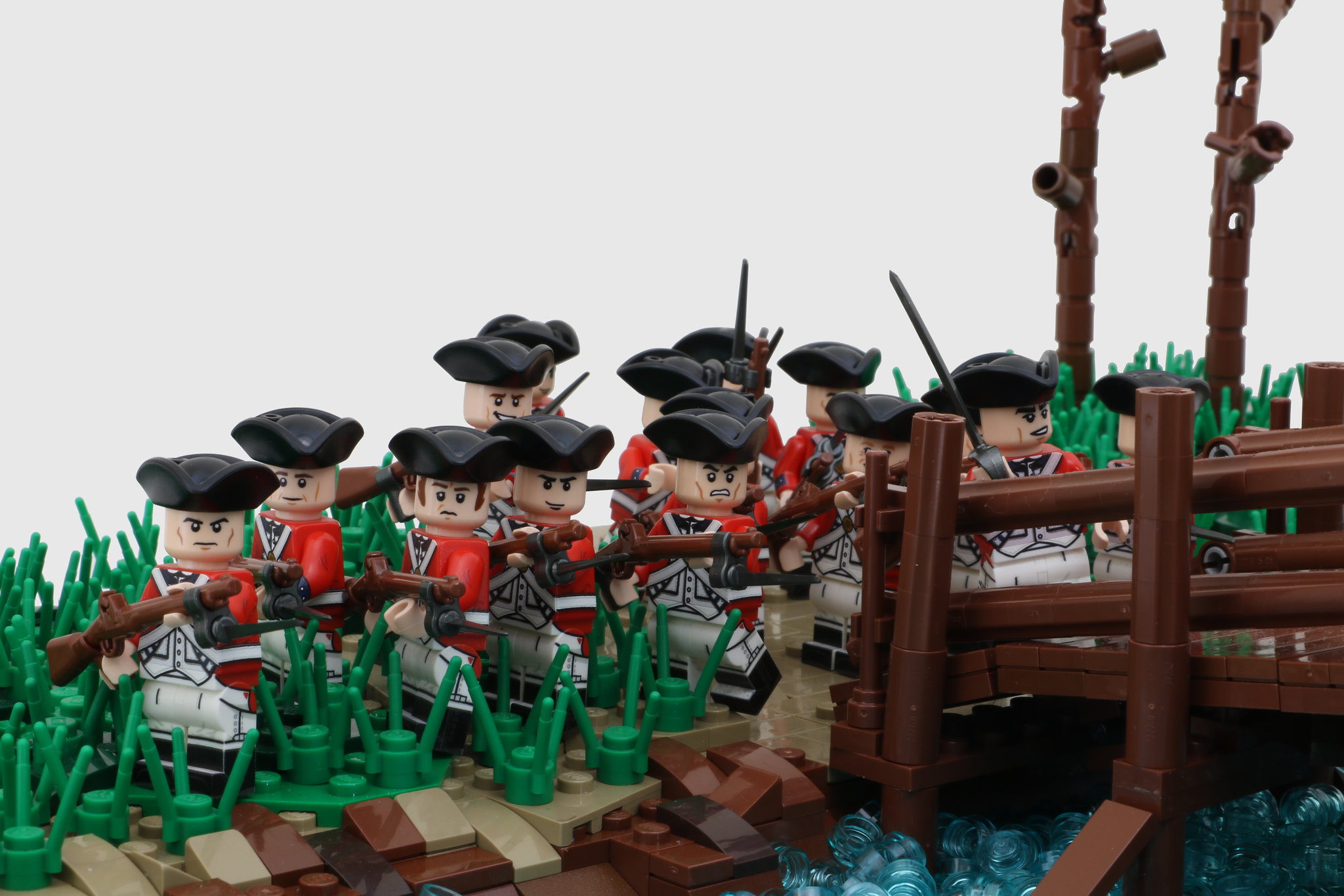 "Photo of ""A Skirmish at North Bridge by"" A_Goodman"