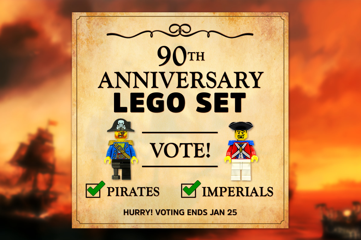 Vote for the LEGO 90th Anniversary set