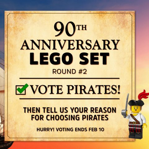 Thumbnail Image of VOTE PIRATES for the 90th Anniversary Set – ROUND #2
