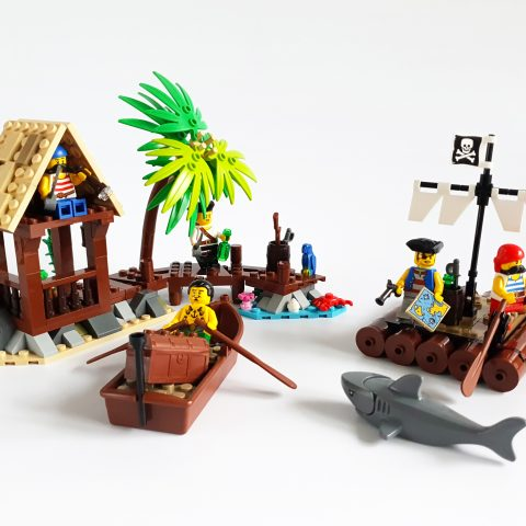 "Thumbnail Image of ""Smuggler's Shanty and Castaway's Raft"" by Kozikyo86"